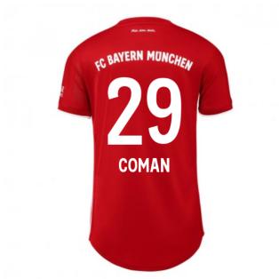 2020-2021 Bayern Munich Adidas Home Womens Shirt (COMAN 29)