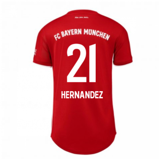 2020-2021 Bayern Munich Adidas Home Womens Shirt (HERNANDEZ 21)