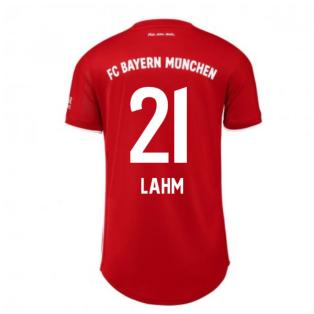 2020-2021 Bayern Munich Adidas Home Womens Shirt (LAHM 21)