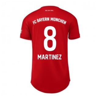 2020-2021 Bayern Munich Adidas Home Womens Shirt (MARTINEZ 8)