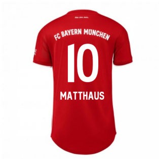 2020-2021 Bayern Munich Adidas Home Womens Shirt (MATTHAUS 10)