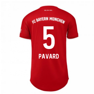 2020-2021 Bayern Munich Adidas Home Womens Shirt (PAVARD 5)