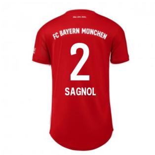 2020-2021 Bayern Munich Adidas Home Womens Shirt (SAGNOL 2)