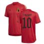2020-2021 Belgium Adidas Training Shirt (Red) (E HAZARD 10)