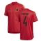 2020-2021 Belgium Adidas Training Shirt (Red) (KOMPANY 4)