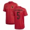 2020-2021 Belgium Adidas Training Shirt (Red) (VERTONGHEN 5)