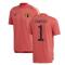 2020-2021 Belgium Adidas Training Tee (Red) (COURTOIS 1)