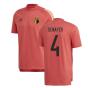 2020-2021 Belgium Adidas Training Tee (Red) (DENAYER 4)