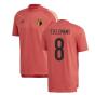 2020-2021 Belgium Adidas Training Tee (Red) (TIELEMANS 8)