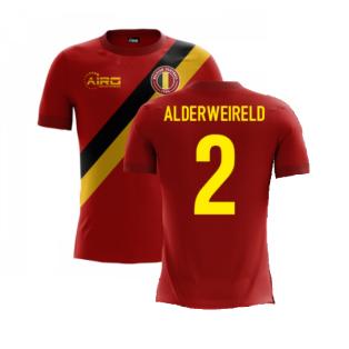 2020-2021 Belgium Airo Concept Home Shirt (Alderweireld 2) - Kids