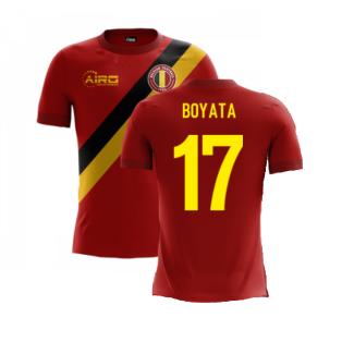2020-2021 Belgium Airo Concept Home Shirt (Boyata 17) - Kids
