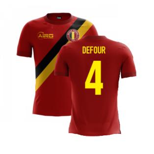 2020-2021 Belgium Airo Concept Home Shirt (Defour 4) - Kids