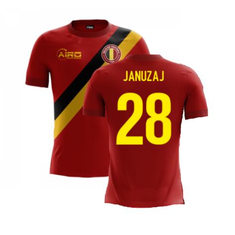 2020-2021 Belgium Airo Concept Home Shirt (Januzaj 28) - Kids