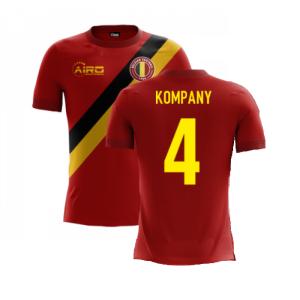 2020-2021 Belgium Airo Concept Home Shirt (Kompany 4) - Kids