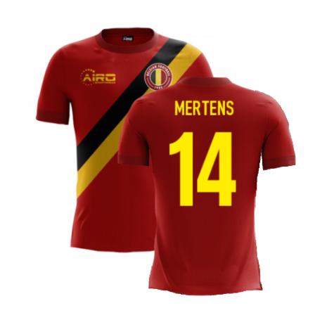 2020-2021 Belgium Airo Concept Home Shirt (Mertens 14) - Kids