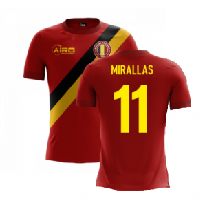 2020-2021 Belgium Airo Concept Home Shirt (Mirallas 11) - Kids