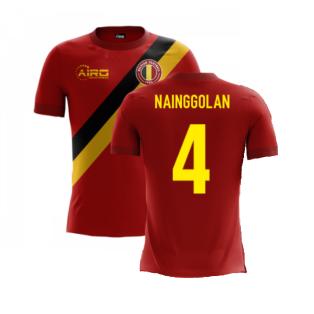 2020-2021 Belgium Airo Concept Home Shirt (Nainggolan 4) - Kids