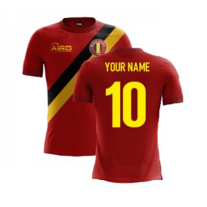 2020-2021 Belgium Home Concept Football Shirt