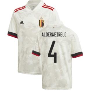 2020-2021 Belgium Away Shirt (Kids) (ALDERWEIRELD 4)