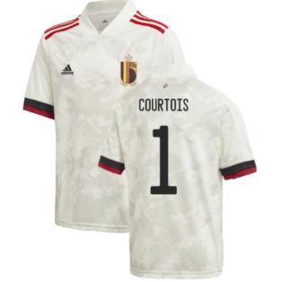 2020-2021 Belgium Away Shirt (Kids) (COURTOIS 1)
