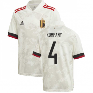 2020-2021 Belgium Away Shirt (Kids) (KOMPANY 4)