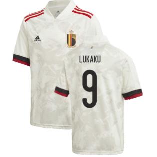 2020-2021 Belgium Away Shirt (Kids) (LUKAKU 9)
