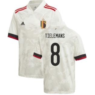 2020-2021 Belgium Away Shirt (Kids) (TIELEMANS 8)