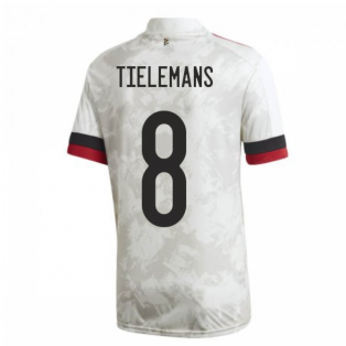 2020-2021 Belgium Away Shirt (TIELEMANS 8)
