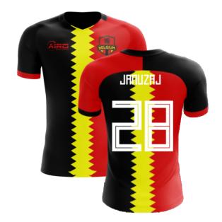 2020-2021 Belgium Flag Concept Football Shirt (Januzaj 28) - Kids