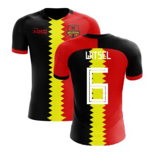 2020-2021 Belgium Flag Concept Football Shirt (Witsel 6) - Kids