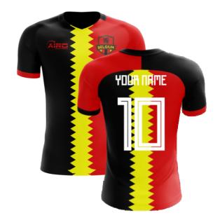 2020-2021 Belgium Flag Concept Football Shirt (Your Name)