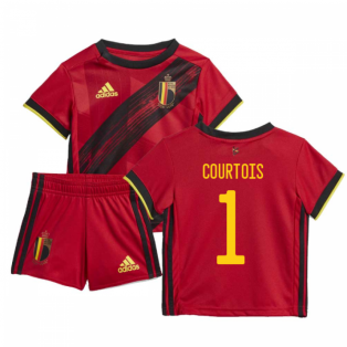 2020-2021 Belgium Home Adidas Baby Kit (COURTOIS 1)