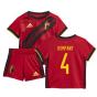 2020-2021 Belgium Home Adidas Baby Kit (KOMPANY 4)