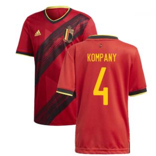 2020-2021 Belgium Home Adidas Football Shirt (KOMPANY 4)