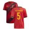 2020-2021 Belgium Home Adidas Football Shirt (VERTONGHEN 5)