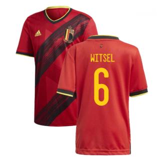 2020-2021 Belgium Home Adidas Football Shirt (WITSEL 6)