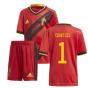2020-2021 Belgium Home Adidas Mini Kit (COURTOIS 1)