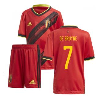 2020-2021 Belgium Home Adidas Mini Kit (DE BRUYNE 7)