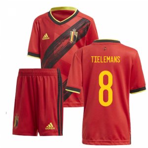 2020-2021 Belgium Home Adidas Mini Kit (TIELEMANS 8)