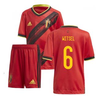2020-2021 Belgium Home Adidas Mini Kit (WITSEL 6)
