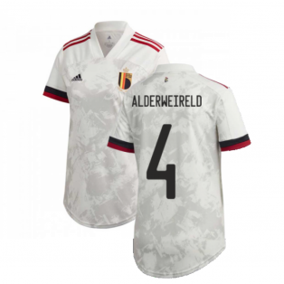 2020-2021 Belgium Womens Away Shirt (ALDERWEIRELD 4)