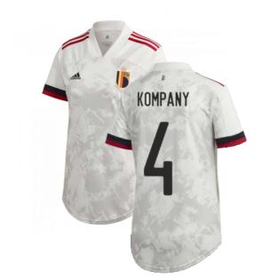 2020-2021 Belgium Womens Away Shirt (KOMPANY 4)
