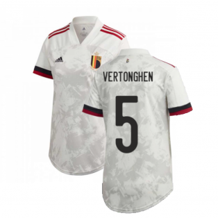 2020-2021 Belgium Womens Away Shirt (VERTONGHEN 5)