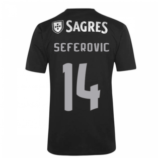 2020-2021 Benfica Away Shirt (Kids) (Seferovic 14)