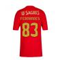 2020-2021 Benfica Home Shirt (Fernandes 83)