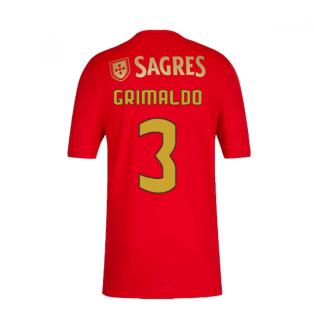 2020-2021 Benfica Home Shirt (Grimaldo 3)