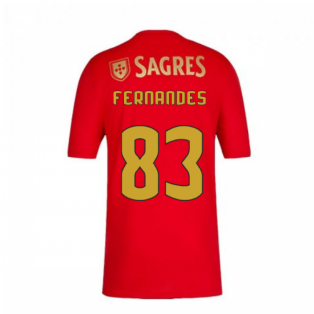2020-2021 Benfica Home Shirt (Kids) (Fernandes 83)