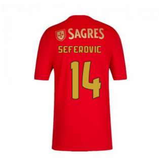 2020-2021 Benfica Home Shirt (Kids) (Seferovic 14)