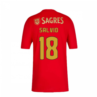 2020-2021 Benfica Home Shirt (Salvio 18)
