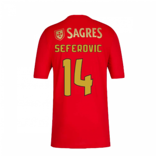 2020-2021 Benfica Home Shirt (Seferovic 14)